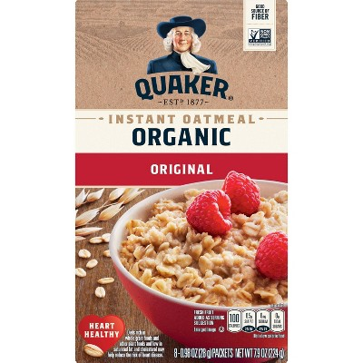 Quaker Select Starts Organic Instant Oatmeal - 8ct