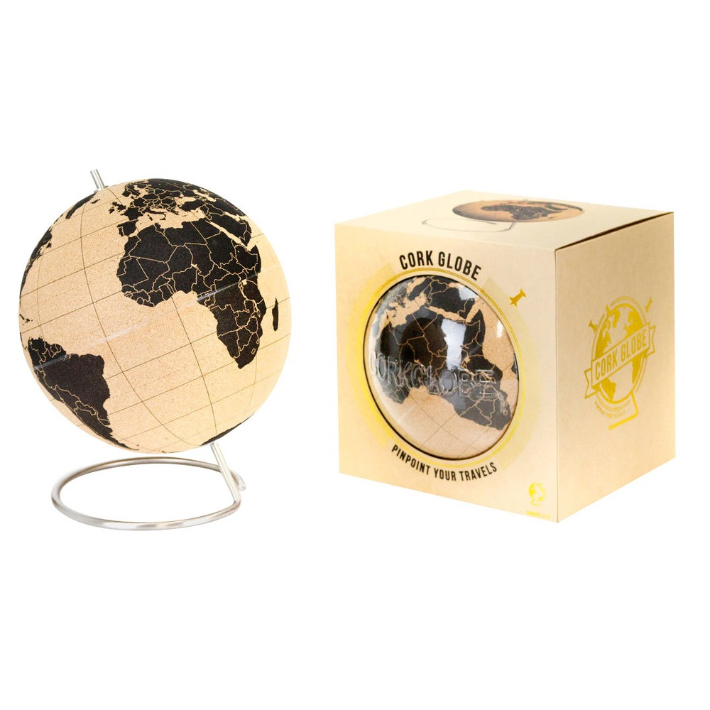 "Image of ""suckuk Cork World Globe 5.5"""" Diameter"""