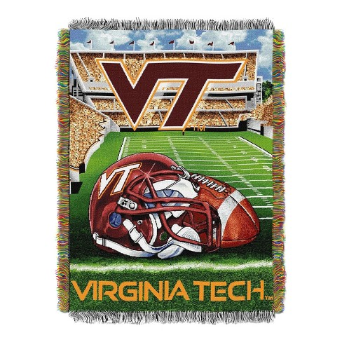 new products 84f14 0c89e Virginia Tech Hokies Home Field Advantage College Throw