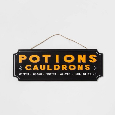 Wood Potions Halloween Sign - Hyde & EEK! Boutique™