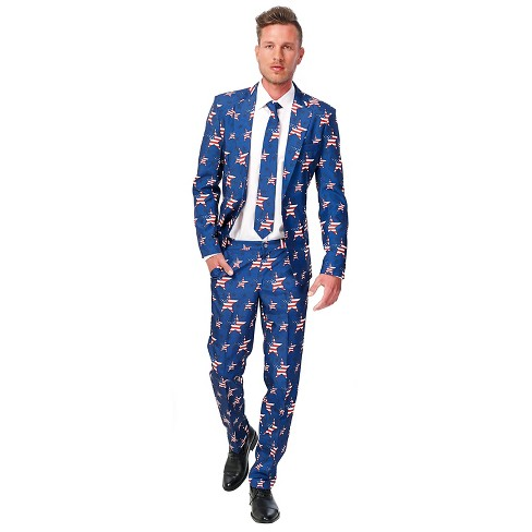 e76a5f96398 Men s American Flag Suit Costume   Target