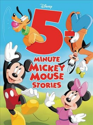 5-Minute Mickey Mouse Stories - (5 Minute Stories)(Hardcover)