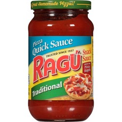 Ragu Pizza Quick Traditional Snack Sauce - 14oz