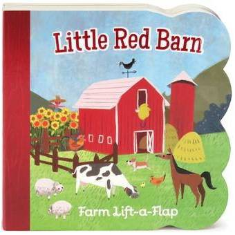 Little Red Barn - by Ginger Swift (Board Book)