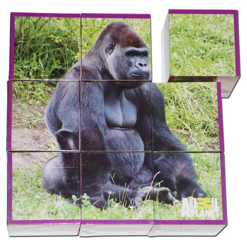 Smart Play Animal Planet Puzzle Cubes - Animal Babies 9pc