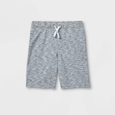 Boys' Pull-On Knit Shorts - Cat & Jack™ Light Gray