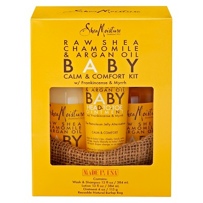 SheaMoisture Raw Shea Chamomile & Argan Oil Baby Calm & Comfort Kit