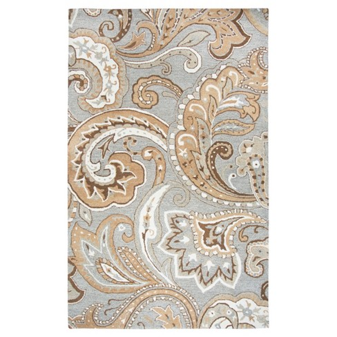 Suffolk Paisley Rug - Rizzy Home - image 1 of 3