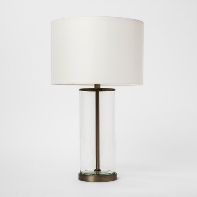 USB Fillable Accent Table Lamp Brass - Project 62™