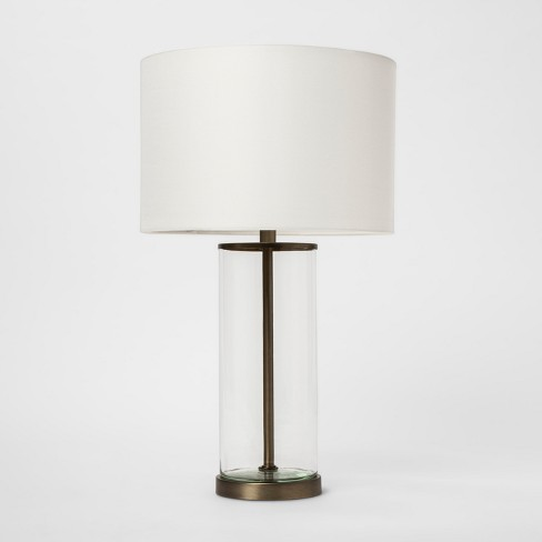 USB Fillable Accent Table Lamp Brass - Project 62™ - image 1 of 4