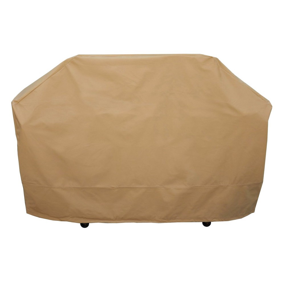 "Image of ""Seasons Sentry 70"""" Large Grill Cover, Beige"""