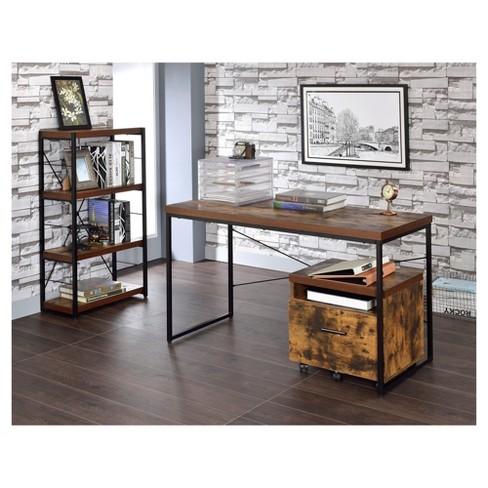 Writing Desk Acme Furniture Oak Target