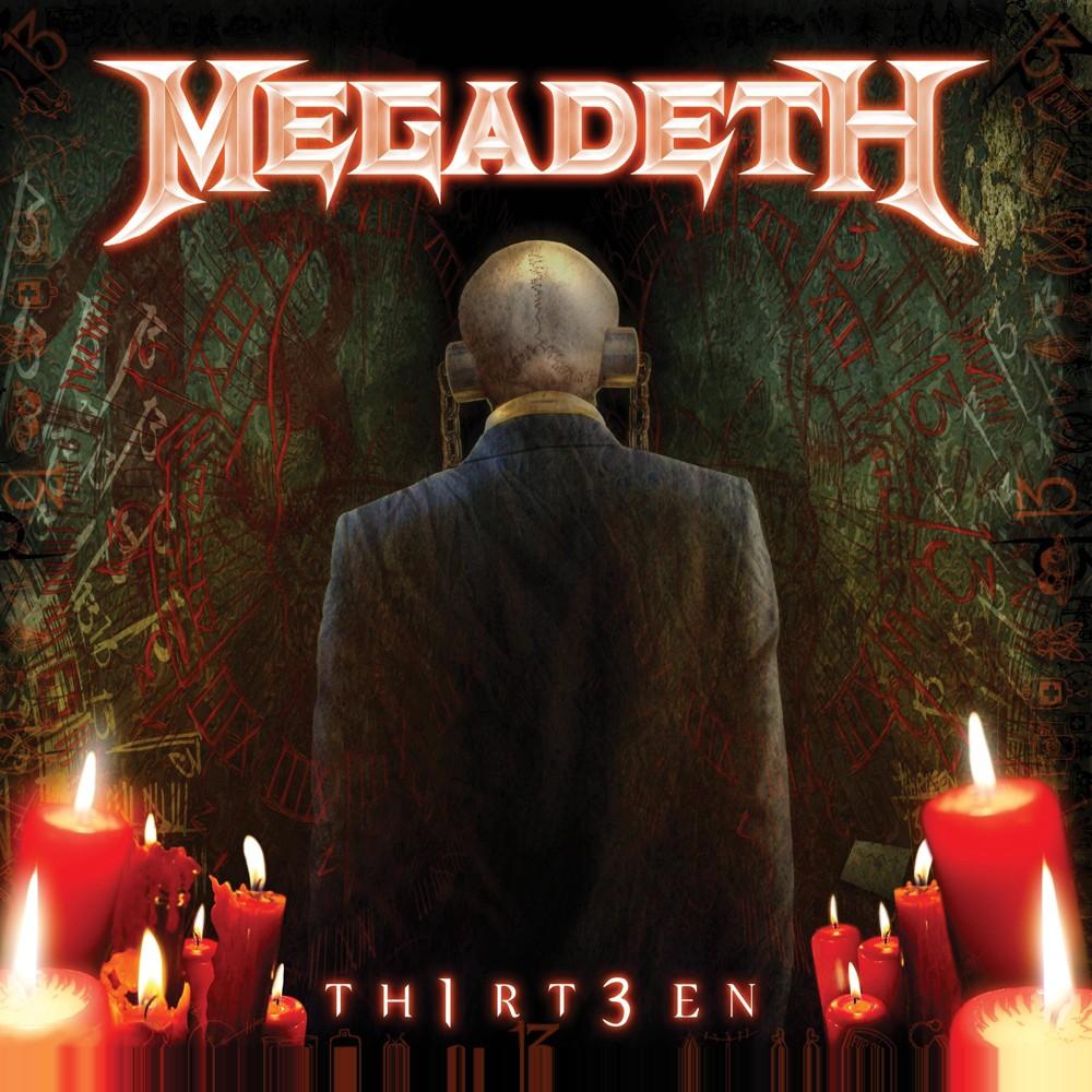 Megadeth Th1rt3en Cd