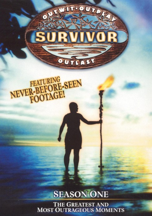 Survivor season 1:Greatest & most out (DVD) - image 1 of 1