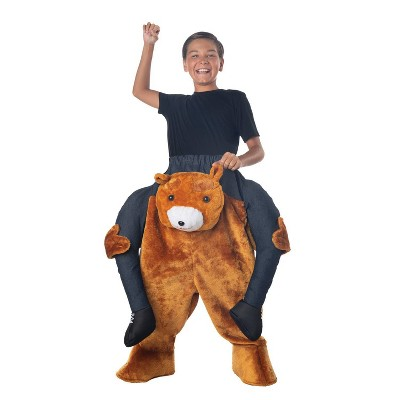 Kids' Carry Me Teddy Bear Halloween Costume
