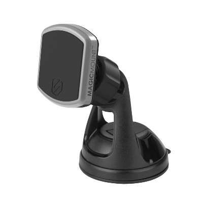 Scosche MagicMOUNT Pro Magnetic Window/Dash Mount  - Black/Silver