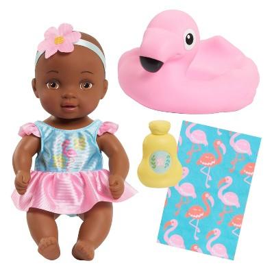 Waterbabies Bathtime Fun Baby Doll - Brown Eyes
