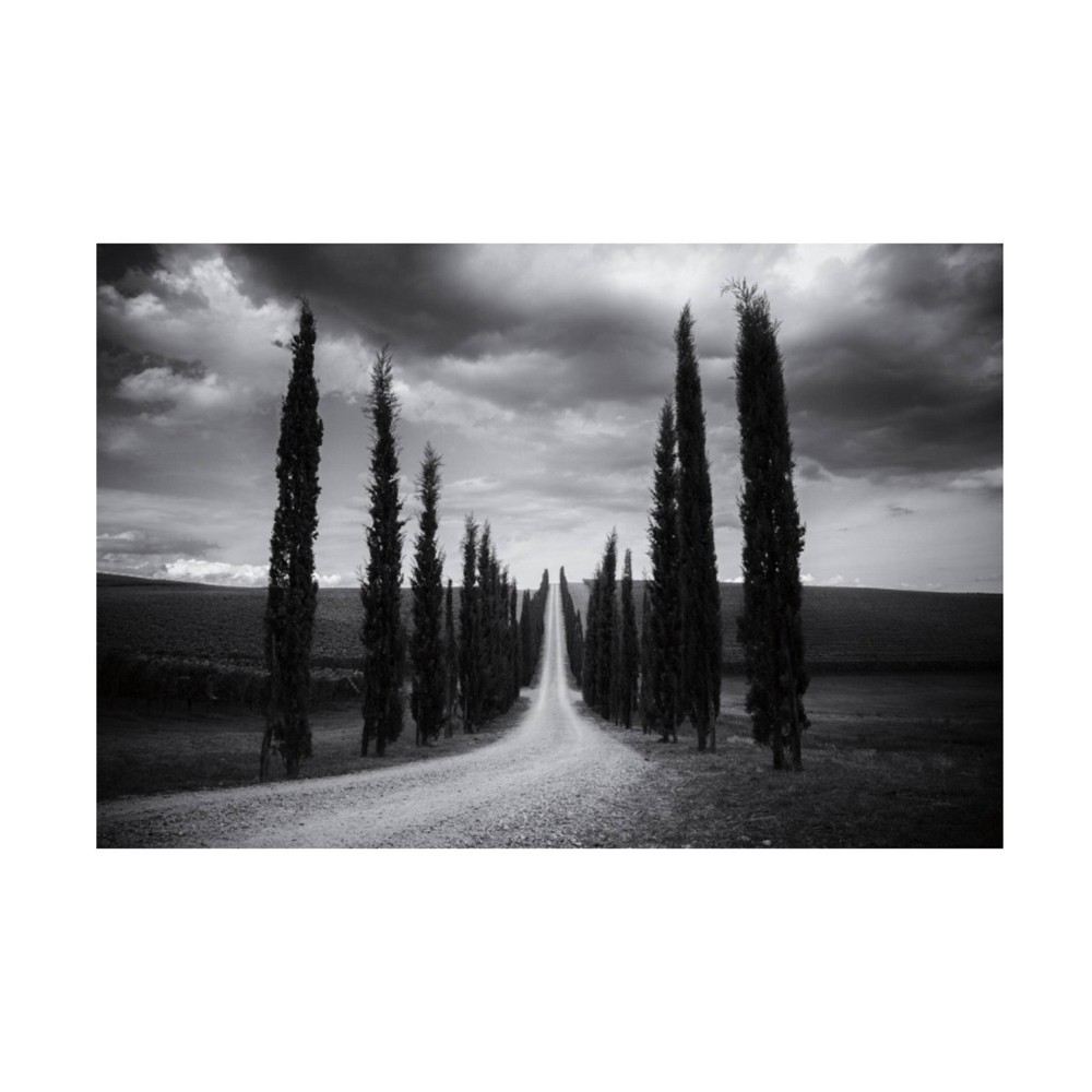 22 34 X 32 34 Aledanda 39 Travelling In Tuscany 39 Unframed Canvas Art Trademark Fine Art