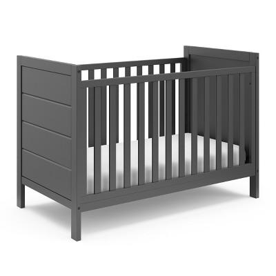 Storkcraft Nestling 3-in-1 Convertible Crib - Gray