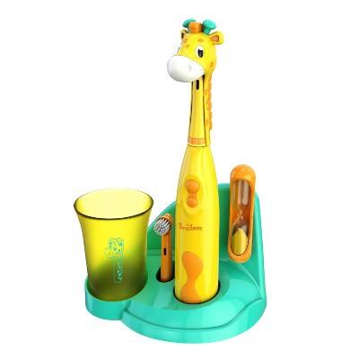Brusheez Jovie the Giraffe Children's Electronic Kids Toothbrush Set