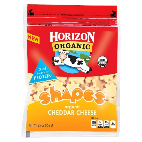 Horizon Organic Shapes Cheddar Cheese - 5.5oz - image 1 of 1