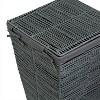 Laundry Basket Gray - Honey-Can-Do - image 4 of 4