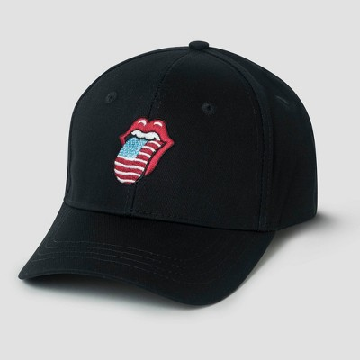 Men's The Rolling Stones Baseball Cap - Black One Size