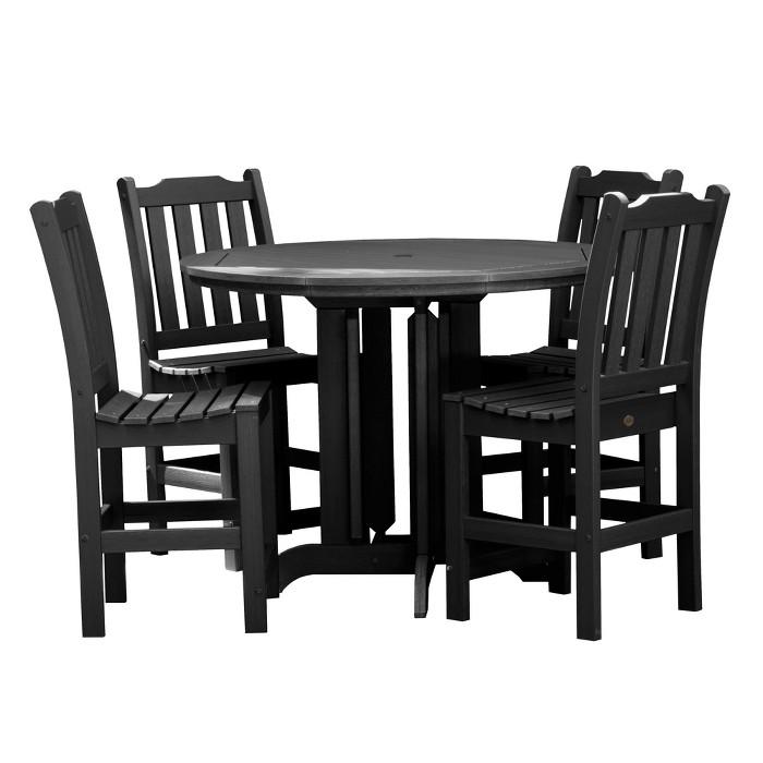 Lehigh 5pc Round Counter Dining Set - Highwood - image 1 of 7