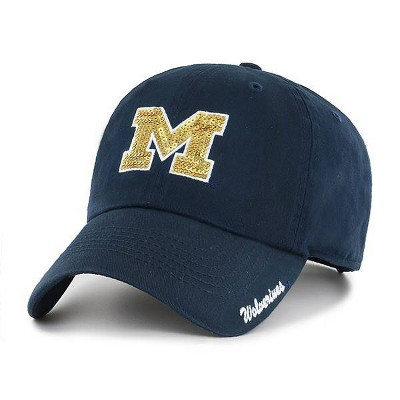NCAA Michigan Wolverines Women's Brushed Cotton Relaxed Fit Hat