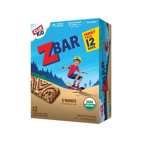CLIF Kid ZBAR Organic S'Mores Snack Bars - 12ct - image 1 of 4