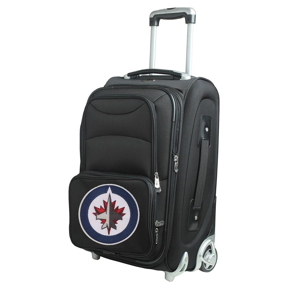 NHL Winnipeg Jets Mojo 21 Carry On Suitcase - Black