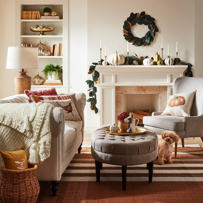 Charmant Cozy U0026 Bright Traditional Fall Living Room Collection ...