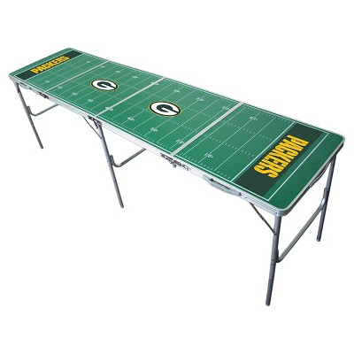 NFL Green Bay Packers Tailgate Table - 2'x8'