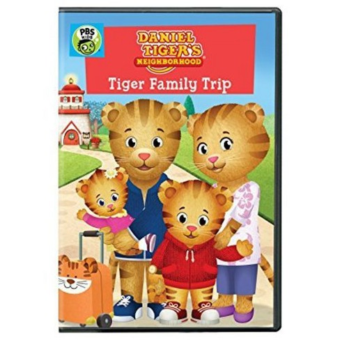 Daniel Tiger's Neighborhood: Tiger Family Trip (DVD) - image 1 of 1
