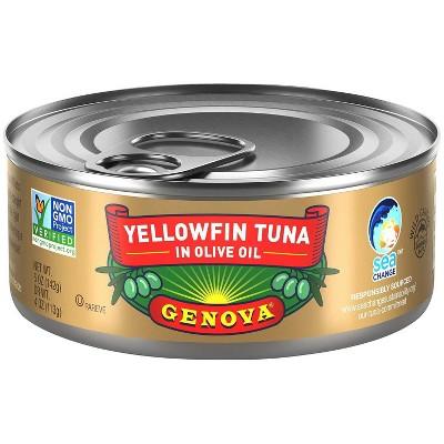 Genova Solid Light Tuna in Olive Oil - 5oz