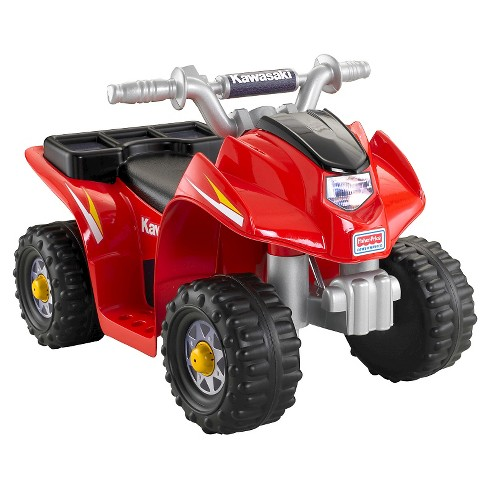 Fisher-Price Power Wheels Kawasaki Lil' Quad - image 1 of 6