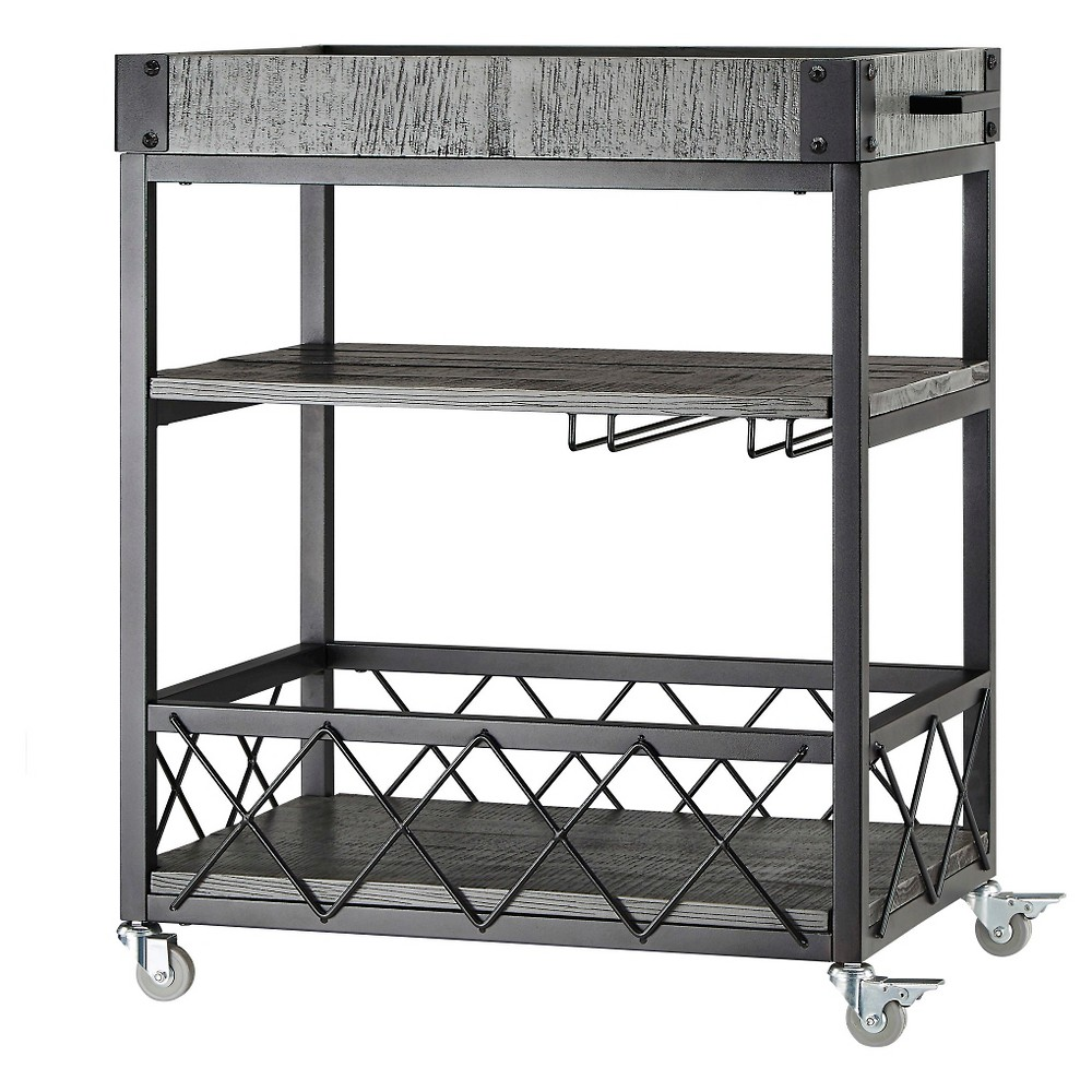 Ronay Bar Cart - Inspire Q, Gray