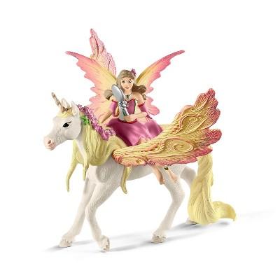 Schleich Fairy Feya with Pegasus Unicorn