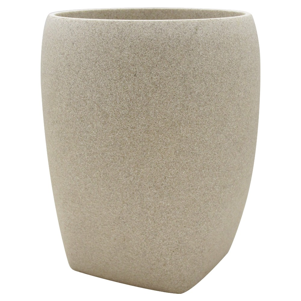Stone Wastebasket Ivory - Allure