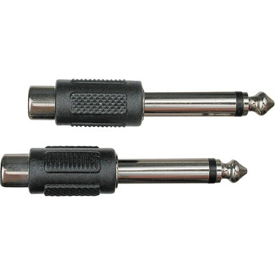 """Livewire Essential Adapter 1/4"""" TS to RCA Female"""