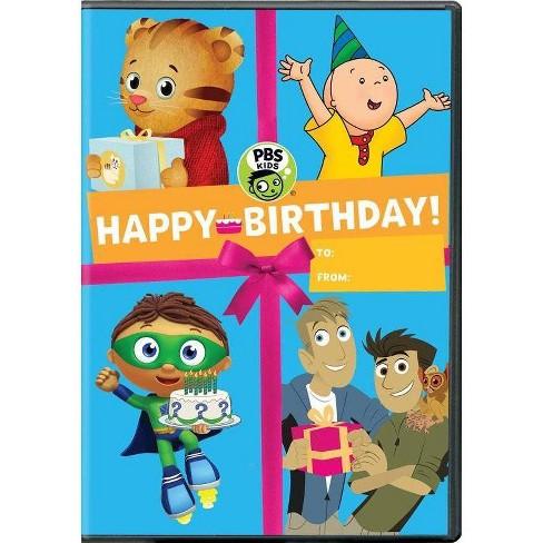 PBS Kids: Happy Birthday (DVD)(2017) - image 1 of 1