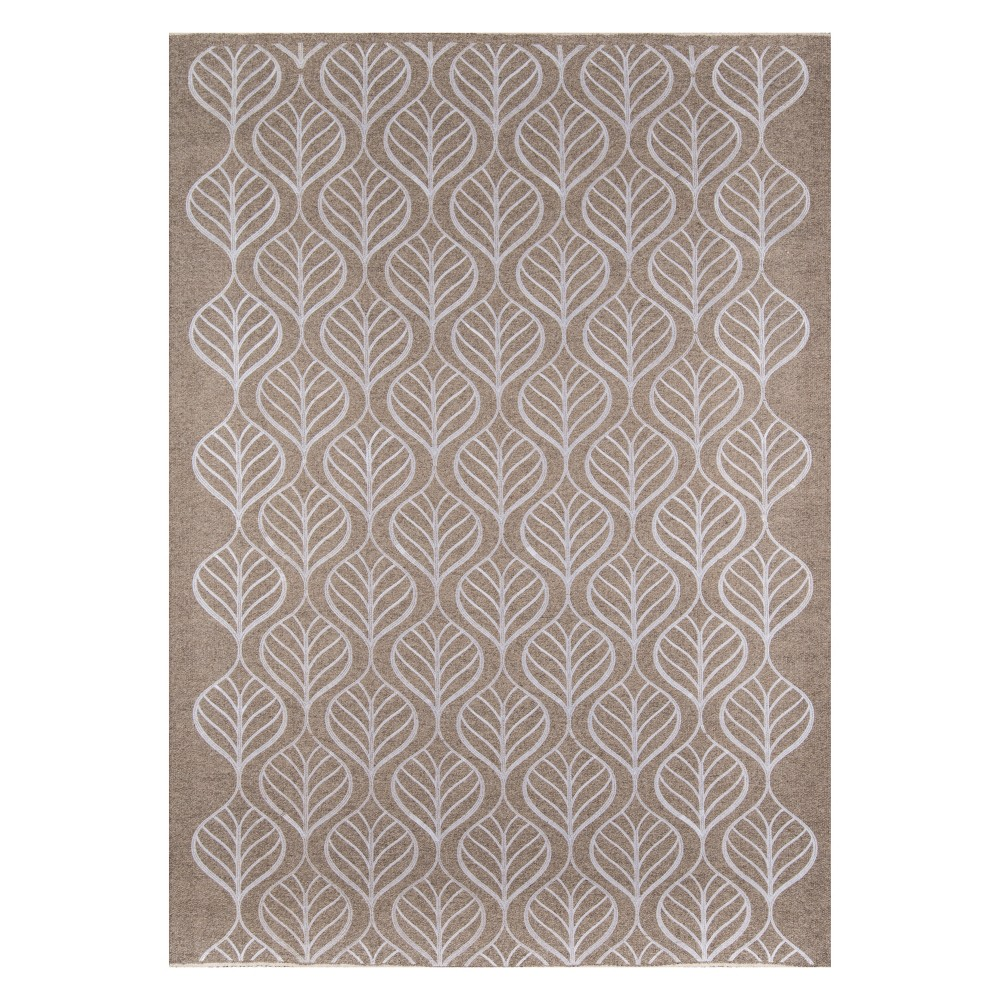 8'X10' Geometric Woven Area Rug Neutral - Momeni, Beige