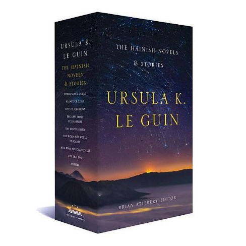 Ursula K. Le Guin: The Hainish Novels and Stories - by  Ursula K Le Guin (Hardcover) - image 1 of 1