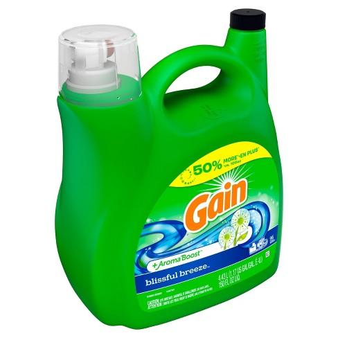 Gain Blissful Breeze Liquid Laundry Detergent - 150oz - image 1 of 3