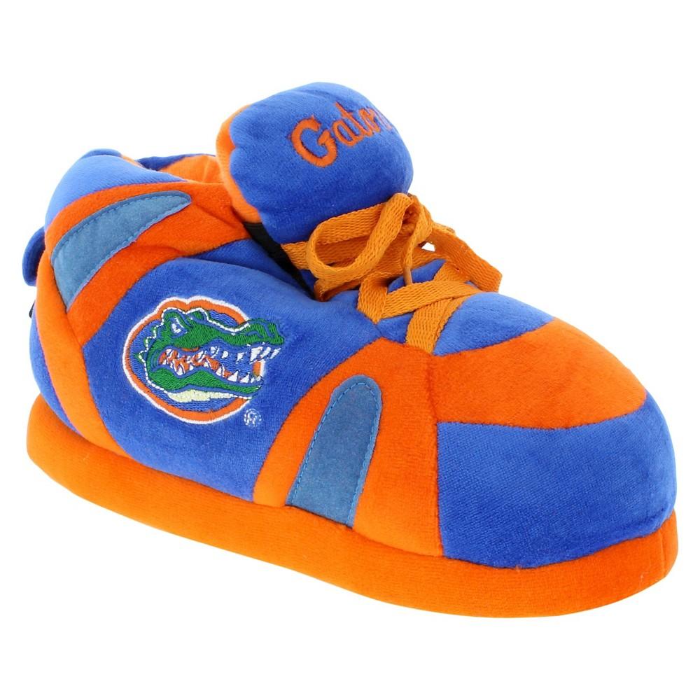 NCAA Florida Gators Adult Comfy Feet Sneaker Slippers - Orange/Blue XL, Adult Unisex, Multicolored