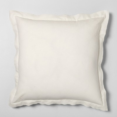 "26"" x 26"" Euro Pillow Sour Cream - Hearth & Hand™ with Magnolia"
