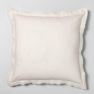 "26"" x 26"" Euro Pillow Sour Cream - Hearth & Hand™ with Magnolia"