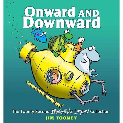 Onward and Downward - (Sherman's Lagoon) by  Jim Toomey (Paperback) - image 1 of 1
