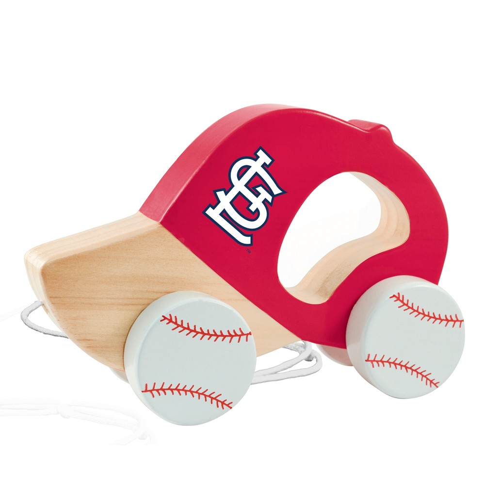 MLB St. Louis Cardinals Push Pull Baby Toy