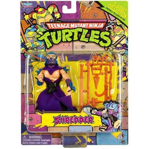 Teenage Mutant Ninja Turtles 1987 Retro Shredder Action Figure